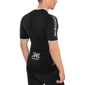 X-Bionic Invent 4.0 Bike Race Zip Jersey SH SL Men black melange